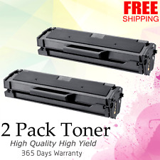 2 Pack 101 MLT-D101S Toner Cartridges for Samsung SCX-3405FW ML-2165W Printer