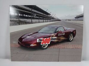 "2002 Indianapolis 500 50th Anniversary Chevrolet Corvette Pace Car 8"" x10"" Photo"