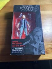 "Star Wars 6"" Action Figure Black Series - #52 General Leia"