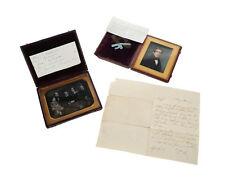 Miniature Portrait of a Gentleman in Black Coat by Henry Colton Shumway c1830