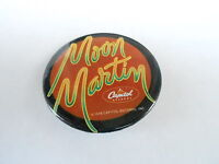 VINTAGE PROMO PINBACK BUTTON #94-159 - MOON MARTIN - CAPITAL RECORDS
