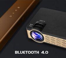 WIFI Bluetooth HD Projector 4000Lumens Home Theatre Projector 1080p HDMI USB VGA