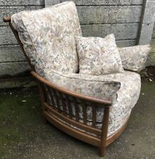 SUPERB ERCOL RENAISSANCE  ARMCHAIR  MATCHING CHAIRS ALSO LISTED  WE DELIVER