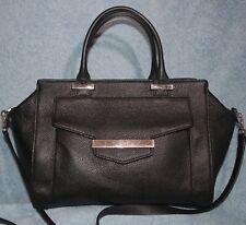 Kate Spade Black Pebbled Leather Crossbody Zip top Satchel EXCELLENT