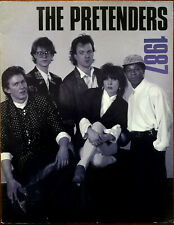 The Pretenders 1987 Tour Programme