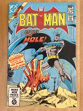 BATMAN #340 F/VF 1981 The Mole Roy Thomas Tyco Magnum 440 HO Racing Cars Ad L@@K