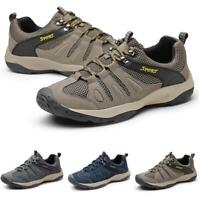 Mens Outdoor Hiking Climbing Sneakers Shoes Breathable Sports Non-slip Casual L
