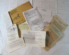1930's - 70's Trapping Trappers Catalog Brochure Guide Lot Vintage Hunting