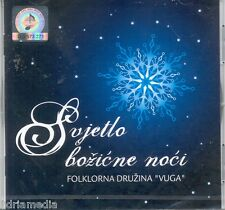 SVJETLO BOZICNE NOCI CD Merry Christmas Bozic Folklorna Druzina Vuga Croatia Hit