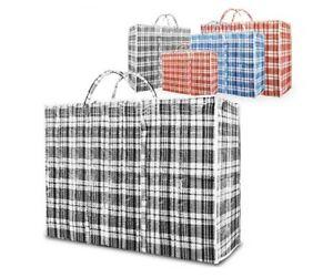 Reusable Laundry Storage Bag Shopping Zip Large Jumbo Durable Laundry Bag UK