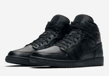 Jordan 1 Mid Triple Black (GS) Size 7Y