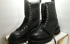 NWT new 6.5 e boots men's black army military boots MIL-B-43739
