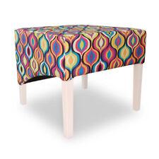Stool Footrest Ottoman Sitting Stool Sitzpouf Living Room Designer Pufa