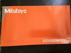"""NIB NEW 12"""" Mitutoyo 916-595 Regular Squares Engineers Square in package and box"""