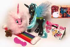 My Little Pony G4 FLUFFLE PUFF Custom Brushable (POMF!) & Queen Chrysalis LOT