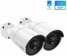 Reolink 2-Pc IP PoE Security Camera 5MP Super HD 2560x1920 Support Audio Bullet