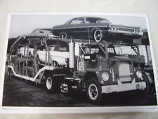 NEW  1971 PLYMOUTH FURYS ON CAR CARRIER  11 X 17  PHOTO  PICTURE