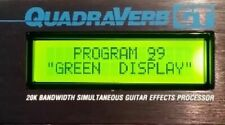 """ALESIS QUADRAVERB"" ""PLUS"" ""GT"" NEW GREEN DISPLAY JUST PLUGIN GIVE AWAY PRICE a"