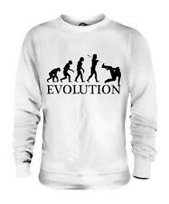 PARKOUR EVOLUTION DES MENSCHEN UNISEX SWEATER PULLOVER PULLI HERREN DAMEN