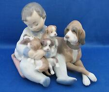 Unboxed Lladró Porcelain & China Dogs