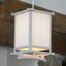 Yoko Caja de estilo japonés Elec Colgante Luz de Techo RRP £ 35 redujo única H:29cm