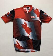 LOUIS GARNEAU CYCLING JERSEY CANADA MAPLE LEAF SIZE P/S