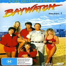 BAYWATCH SEASON 1, 6 Disc Collectors Edition. Brand New, 963 mins Box Set.