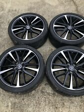 """19"""" Machine Finished & Black Wheels with Tires. 114 L.P Off Camry XSE"""