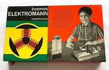Kosmos Elektromann Lehrspielzeug Lernspielzeug Elektrobaukasten 60er 70er