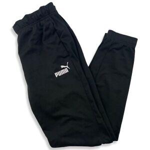 Puma Herren Sporthose Gr. M Jogginghose Sporthose Track Pants Schwarz ED1