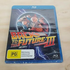 BACK TO THE FUTURE Part III (1990) Blu ray NEW + SEALED (Tracked Post)