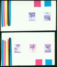 Mauritius 1984 Palm Trees COMPOSIT MASTER PROOF SHEET