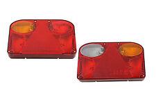 2x Rückleuchten Leuchte LKW PKW 12V/24V Set Heckleuchte Anhänger TR001 E-Prüf
