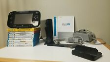 Nintendo Wii U 32GB Black Console Deluxe Set with Nintendo Land - WUP 101(02)