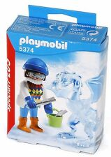 Playmobil 5374 Ice Sculptor Escultor de hielo Dragon gloves NEW BOXED Worldwide