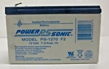 NEW!! Power-Sonic Model PS-1270 F2 Sealed Rechargeable Battery PS-1270F2 | 12V,