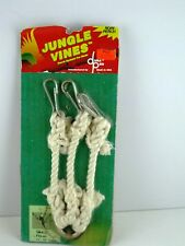 Dura Pro Jungle Vines Self Supporting Cotton Perch System for Birds USA Made