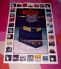 BEATLES POSTER ~ SINGLES COLLECTION. 1982 large promo, folded, unused. VG.