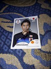 Panini Sticker signiert WM 2018 Shinji Kagawa Japan NEU MEGA RAR