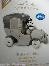 2012 Hallmark TRAFFIC TROUBLES Mickey Mouse SPECIAL EDITION Disney Ornament NEW