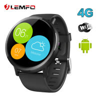 LEMFO LEMX Smartwatch Android 7.1 8MP Kamera 4G 16GB Pulsuhr WIFI GPS Smartphone