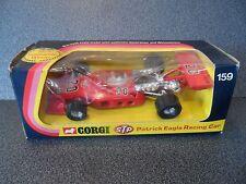 Vintage Corgi 159  STP PATRICK EAGLE RACE CAR..excellent all round!