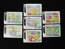 Surfing Pikachu CoroCoro Fan Made Holographic Orica Cards