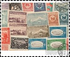 More details for armenia : 25 different stamps collection