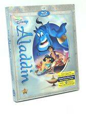 Aladdin (Blu-ray+DVD+Digital HD, 2015; Diamond Ed.) NEW w/ Slipcover OOP