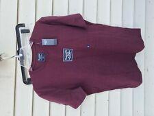 Abercrombie & Fitch Men's LOGO TEE T-shirt BURGUNDY Size XL