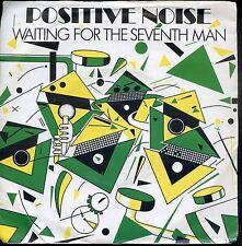7inch POSITIVE NOISE waiting for the seventh man UK EX +PS 1982 STATIK REC