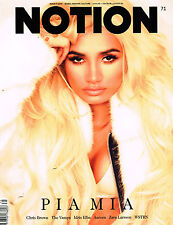 NOTION Magazine #71 PIA MIA Idris Elba DELTA GOODREM Emma Laird SANG WOO KIM New