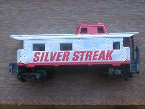 "Tyco ""Silver Streak"" Caboose. HO Scale. No Box."