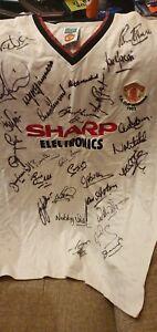 Manchester United Multi-Signed Shirt